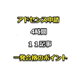 アドセンスの審査期間は4時間!11記事で合格の解説【Diver】【2019】
